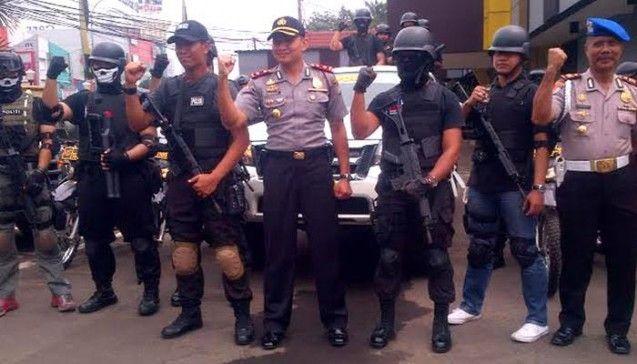 Kepolisian Kota Depok Gelar Razia Tempat Hiburan Malam