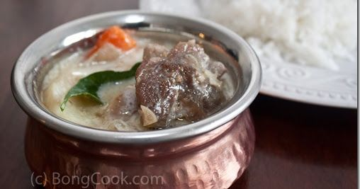 I first had this in Thiruvananthapuram, in god own country, Kerala. We were served the mutton stew along with appam. This is mildly spiced...