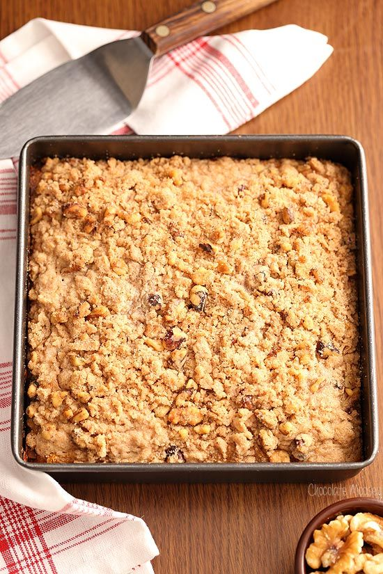 Sweeten up your morning with this Apple Butter Crumb Cake recipe. With that melt-in-your-mouth crunchy crumb topping, it makes the perfect snack for your cup of coffee.