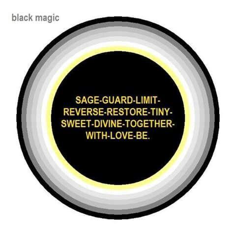 For black magic