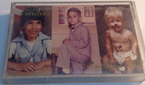 Sparkle and Fade by Everclear (Cassette, May-1995, Capitol/EMI Records)