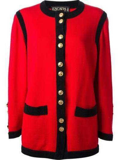 ESCADA VINTAGE western pocket coat #jacket women #covetme #nastygal #fashion #yolo #swag #lifestyle #pink #diva #glitter #highfashion #follow #zara #dolcegabanna #covetme #escadavintage