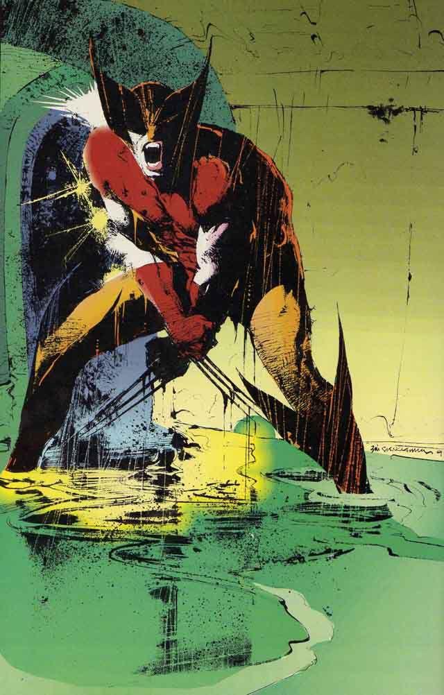 Wolverine #50 [by Bill Sienkiewicz]