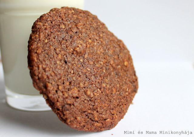 Csokis zabpelyhes keksz