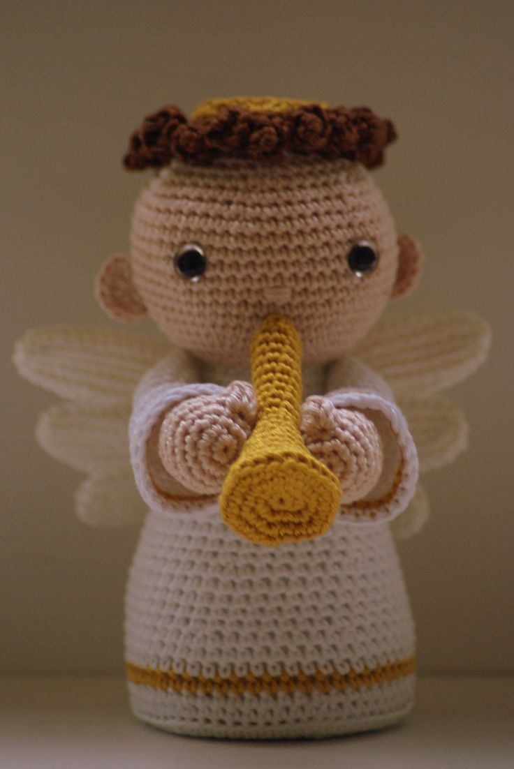 Amigurumi Angel Doll : Designed by amigurumis would be a perfect as