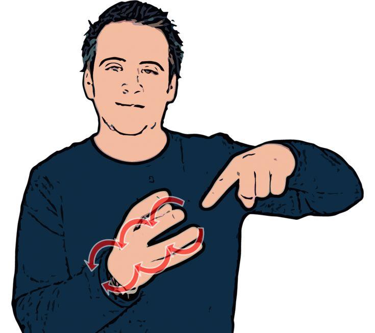 Grapes - British Sign Language (BSL)