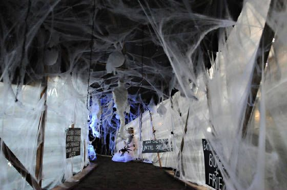 301 best haunted house diy ideas images on pinterest for Spooky haunted house ideas