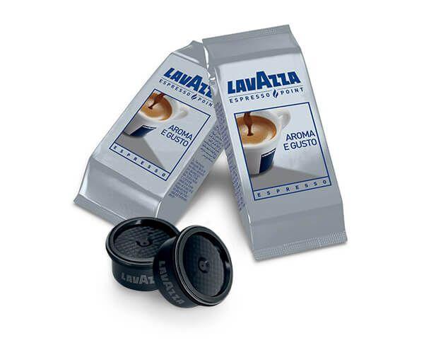 L'Alveare Del Caffè...Il Gusto Del Piacere, propone la qualità delle capsule aroma e gusto Lavazza Espresso Point. Le capsule sono disponibili nel formato da 100 pezzi.