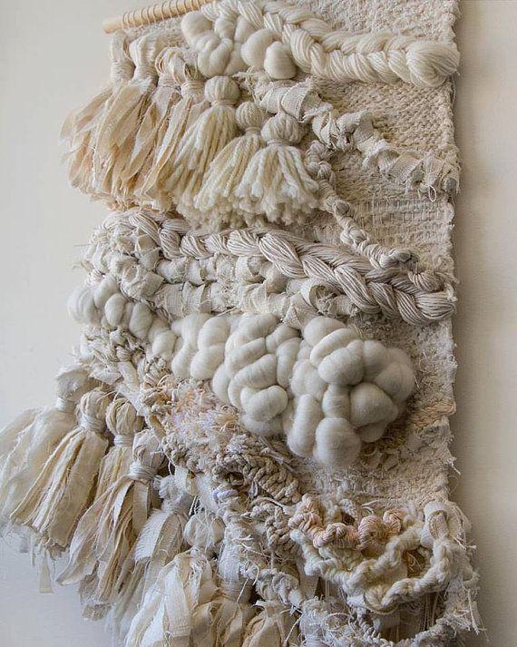 Tassle y cordeles tejidos del colgante de por CrossingThreadsAUS