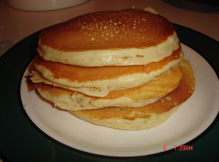 I am very picky when it comes to my pancakes.  I like them light and not heavy for the morning meal. These pancakes are wonderfully delicious.  Slightly sweet and a hint of vanilla makes you think you were touched by an angel.  I actually eat these plain, nothing on them at all... but put some eggs and a strip of turkey bacon and roll it up, you have breakfast on the go!