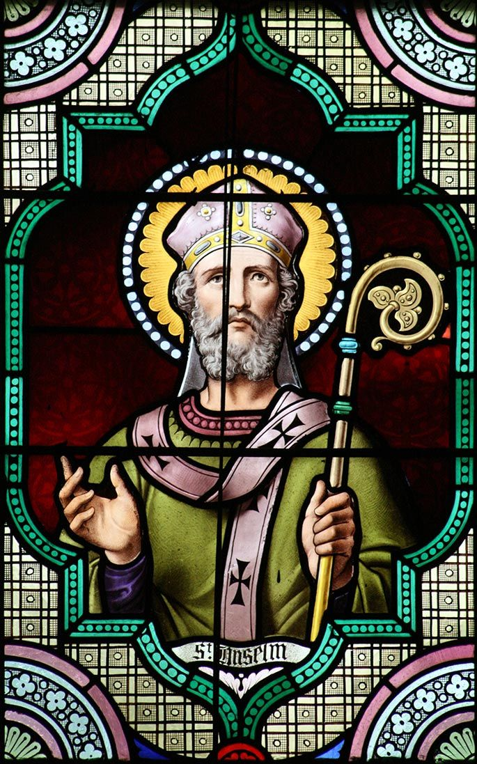 Saint of the day – April 21 – St Anselm Saint Anselm of Canterbury (c 1033-21 April 1109), also called Anselm of Aosta after his birthplace and Anselm of Bec after his monastery, was a Benedictine monk,..click to read on A Yearbook of Saints | DEVOTIO
