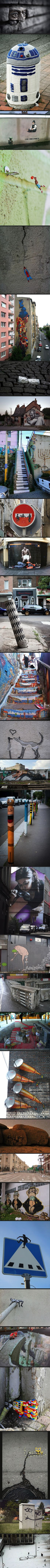 Awesome street art collection