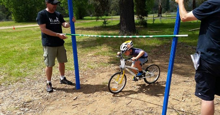 E-350x2i ByK Rider learning skills at the local mountain biking club