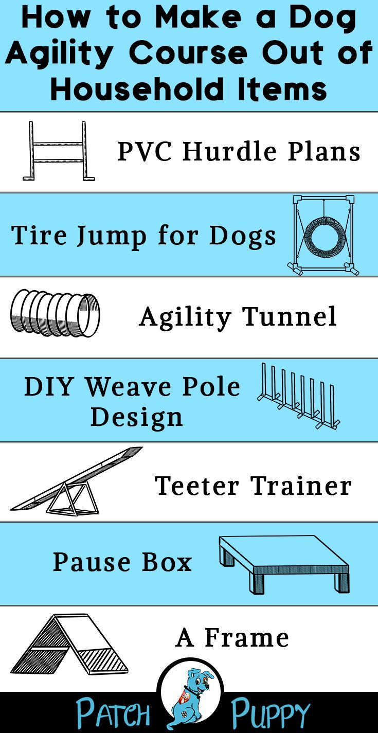 How To Make A Dog Agility Course Out Of Household Items 7