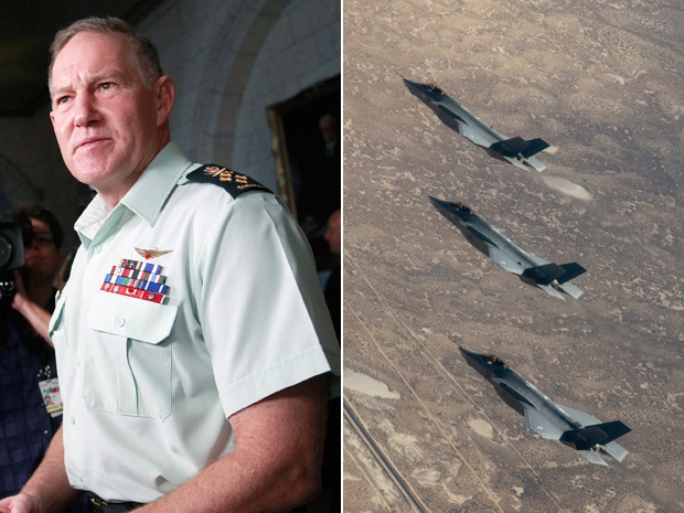 Matthew Fisher: Natynczyk had little to do with the F-35s and they shouldn't tarnish hisreputation