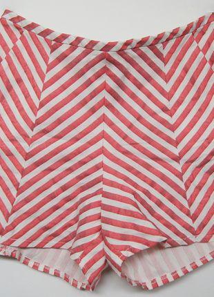 Kup mój przedmiot na #vintedpl http://www.vinted.pl/damska-odziez/szorty-rybaczki/13539232-pasiaste-spodenki-topshop-wysoki-stan-pinup-czerwono-biale