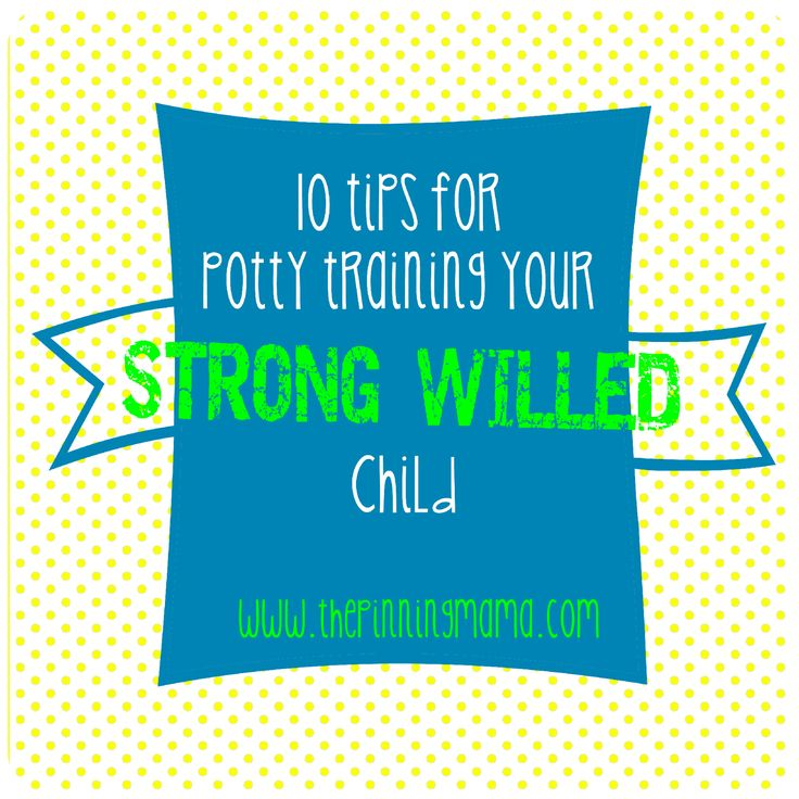 Tips for potty training your strong willed child. This is a really helpful article!!