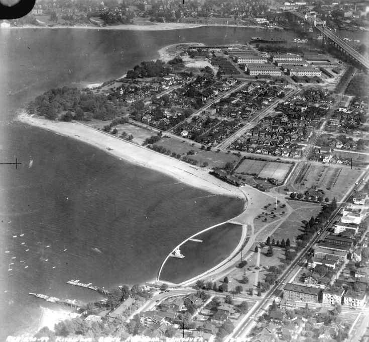 Old Aerial Photo of Vancouver AV-09
