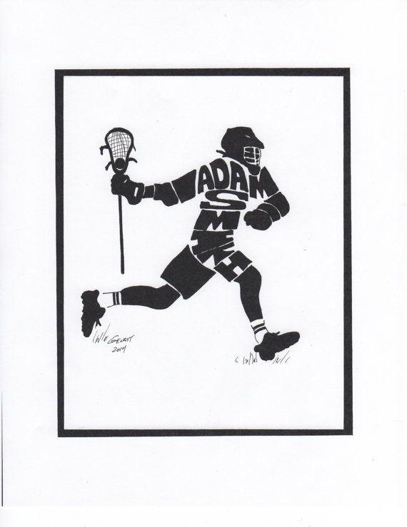 Personalized Sport Figure   Lacrosse Men's by PersonalSportsFigure, $25.00