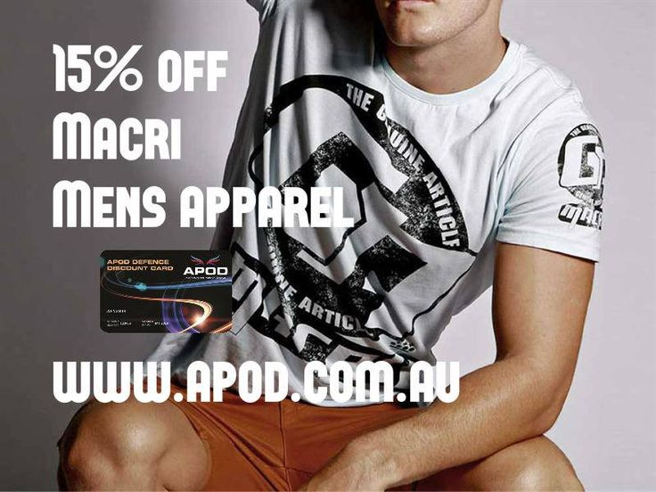 """Macri - comfortable and stylish fashion clothing for guys and girls. Great discount through APOD, jump on to our new site and """"make it happen""""!"""