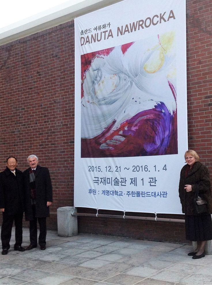Wystawa malarki Danuty Nawrockiej w Muzeum w Deagu