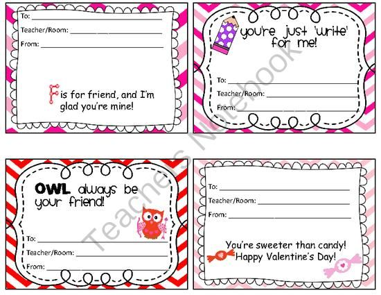valentine candy gram from 3rd grade fun on