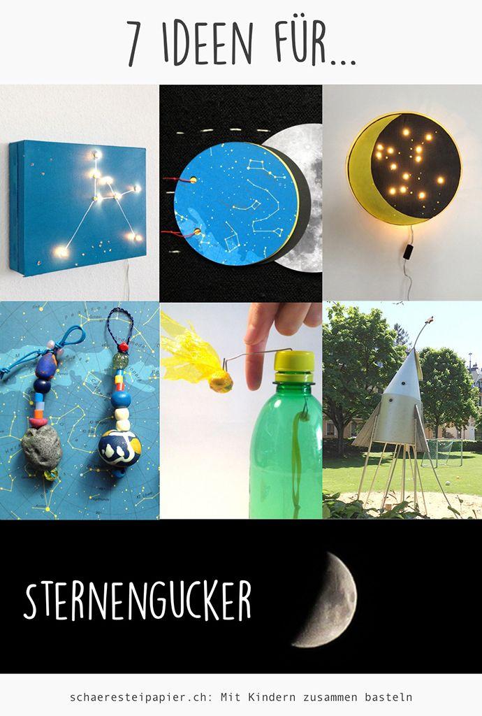 7 Ideen für Sternengucker, DIY, tutorials; 7 ideas, stargazing, schaeresteipapi…