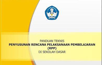 Download Gratis Buku Panduan Teknis Penyusunan RPP Terbaru 2016/2017 Format PDF
