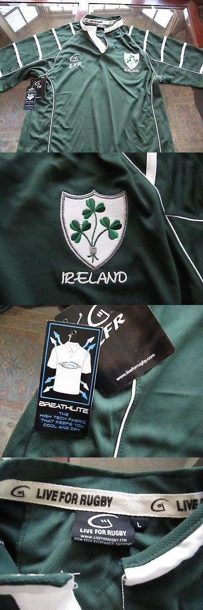 Rugby 21563: Irish Rugby Jersey New With Tags - Price Reduced -> BUY IT NOW ONLY: $35 on eBay!