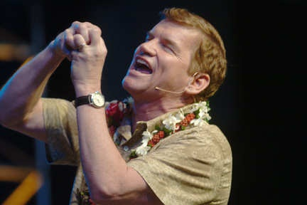 Ted Haggard, ex-megachurch pastor and confidant and adviser to George W. Bush. He didn't snort that meth, or have sex with that male prostitute. Except that he did. Or not. He's not sure.