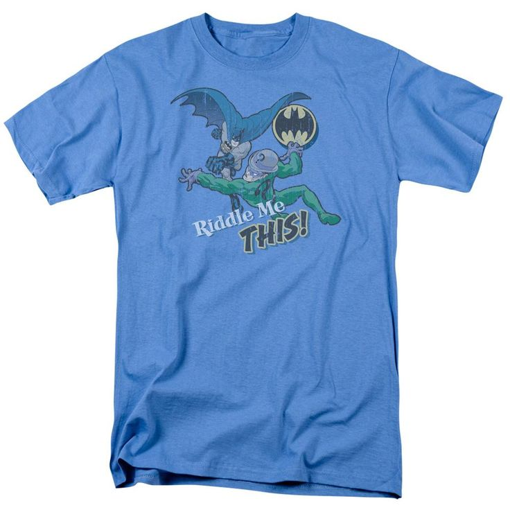 Batman - Riddle Me This Short Sleeve Adult 18/1