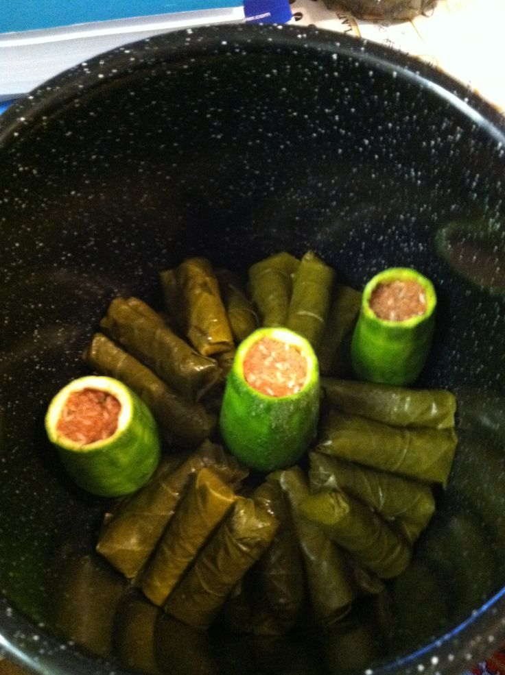 Traditional Armenian food that I grew up on. Stuffed ...