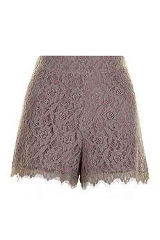 Ash Grey London Shorts