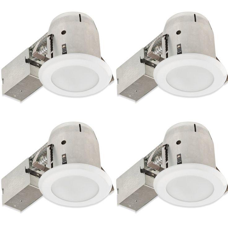 "Bathroom Round 4"" Recessed Lighting Kit"
