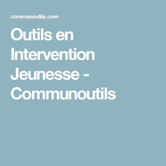 Outils en Intervention Jeunesse - Communoutils