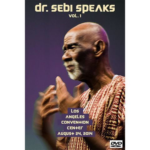 Dr. Sebi Speaks, vol. 1, DVD – Dr. Sebi's Cell Food Store