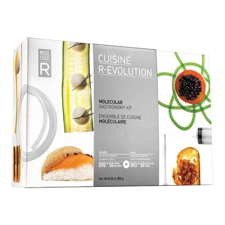 Molecule-R Cuisine R-Evolution Molecular Gastronomy Kit, Multicolor