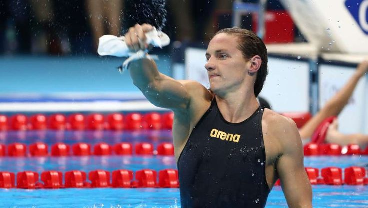 Doping questions linger as swimming record falls -    August 7, 2016