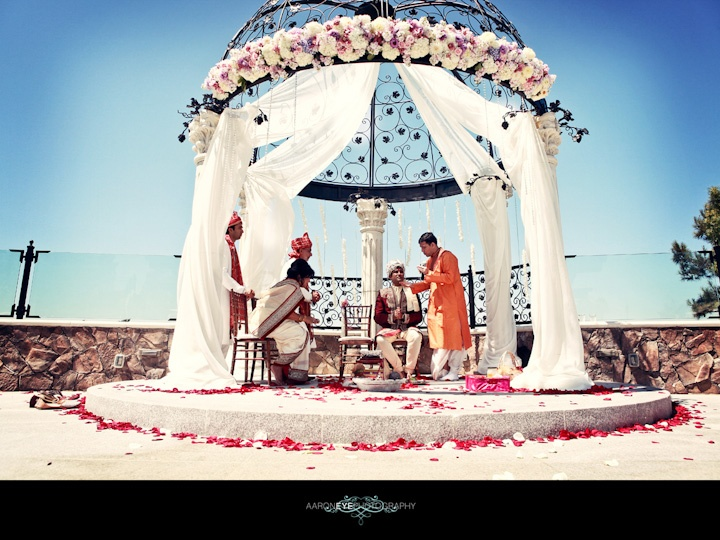 Indian Wedding Photography In Seal Beach Old Ranch