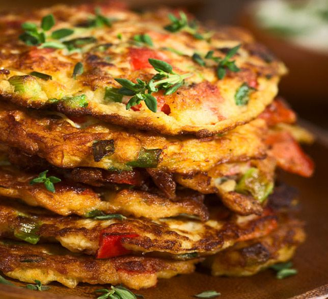 Red Onion & Green Pea Fritters