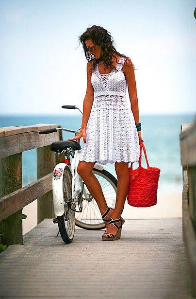 Vestido de verano tendencias de la moda de por LecrochetArt en Etsy, $380.00