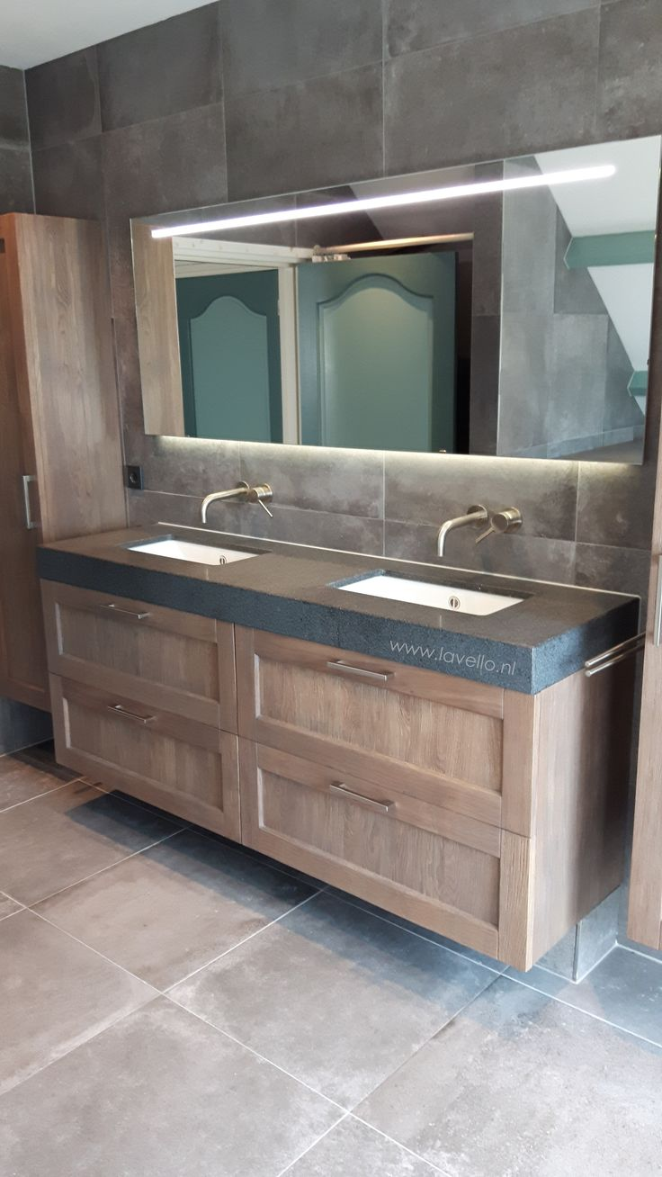 105 best badkamermeubels made by wood4 images on pinterest appliances basins and bathroom ideas - Idee deco eetsalon eigentijdse ...