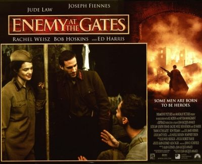 favorite movies Based on True Story's.Enemy At The Gates