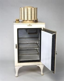 Energy Star? Yep, the 1937 GE Monitor-Top refrigerator beats every modern one out there.