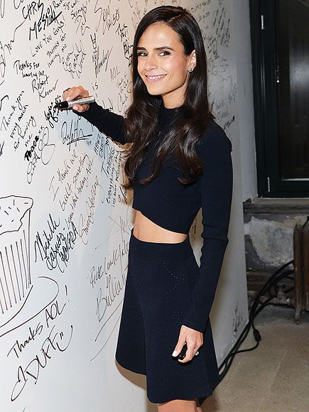 Star Tracks: Monday, April 6, 2015 | FAST TO SIGN | Furious 7 star Jordana Brewster leaves her mark at AOL Studios after stopping by their BUILD Speaker Series on Friday in N.Y.C.