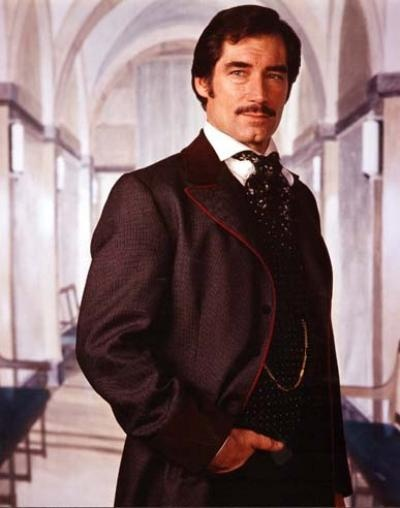 Timothy Dalton as Rhett Butler from Scarlett - The sequel TV drama to Gone With The Wind