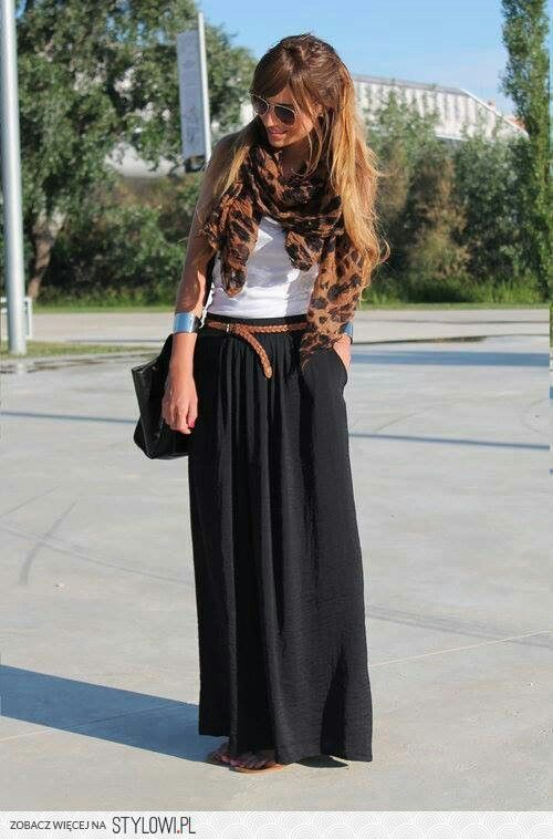 6 Ways to Style a Maxi Skirt