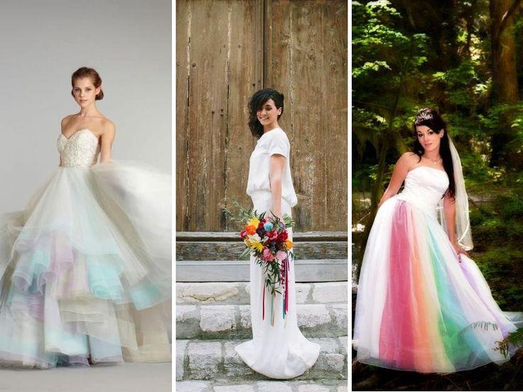 Best 25 Simple Wedding Gowns Ideas On Pinterest: 25+ Best Ideas About Rainbow Wedding Decorations On