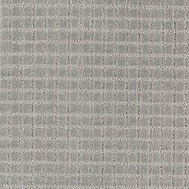 Mohawk Essentials Picture Perfect Mineral Grey Cut and Loop Indoor Carpet