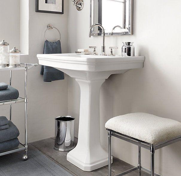 17 Best Ideas About Pedestal Sink Bathroom On Pinterest